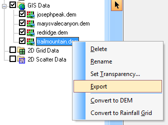 Raster Data Conversions