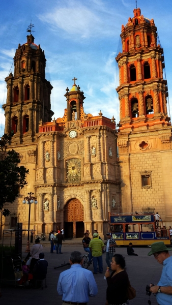 One of the many beautiful churches in San Luis Potosi.