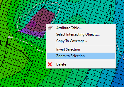 The Zoom to Selection Command