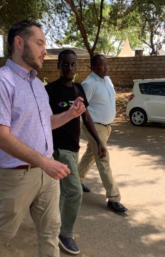 Tethy training in Kenya