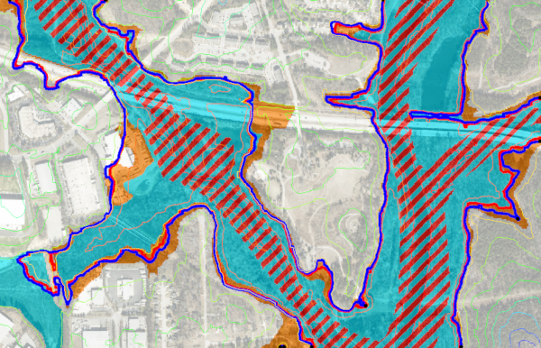 Flood Extents using Map Flood