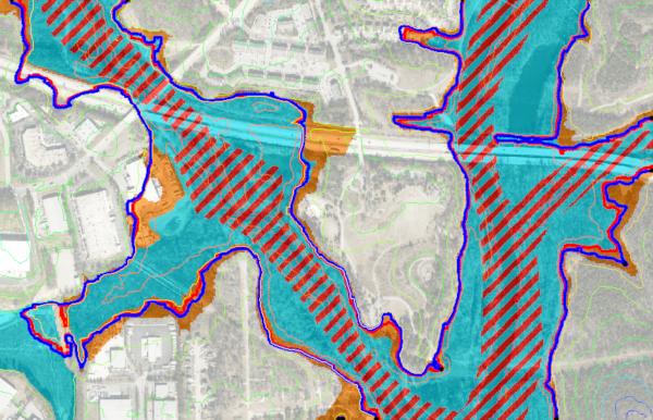 Flood Extents using Map Flood